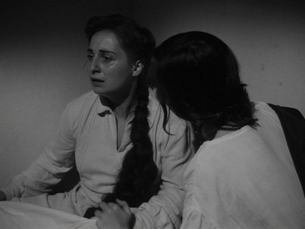 Goliarda Sapienza nei panni di Maria, in Gli sbandati (1955) di Citto Maselli