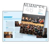 """Article paru dans le magazine """"Nuances"""" de l'HEMU sur le concert du 14 septembre : """"La Musique ancienne... de demain !"""""""