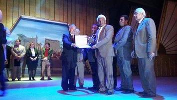 تكريم محمود المغربي بالاقصر