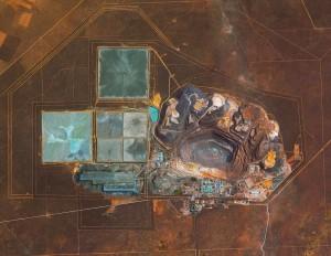 منجم جوانينغ في بوتسوانا، وهو أغنى منجم للماس في العالم