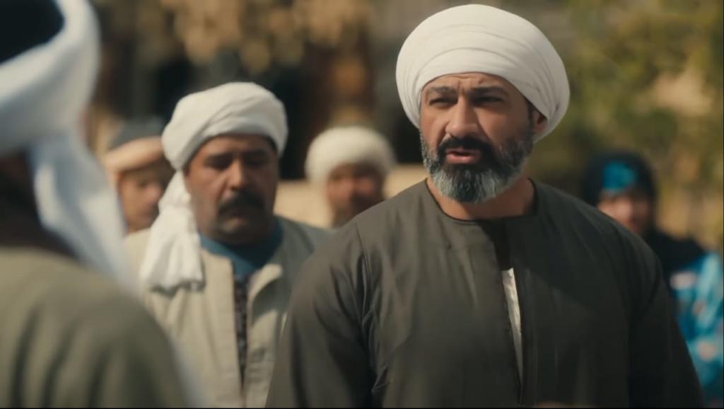 مي عمر تقابل ياسر جلال بعد كشفها حقيقة الفارس الملثم في الحلقة 8 من الفتوة عرب فن
