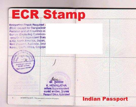 What Does ECR and ECNR Stands for in Indian Passports ...