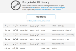 What are the best online Arabic dictionaries and mobile Apps for Arabic? 12