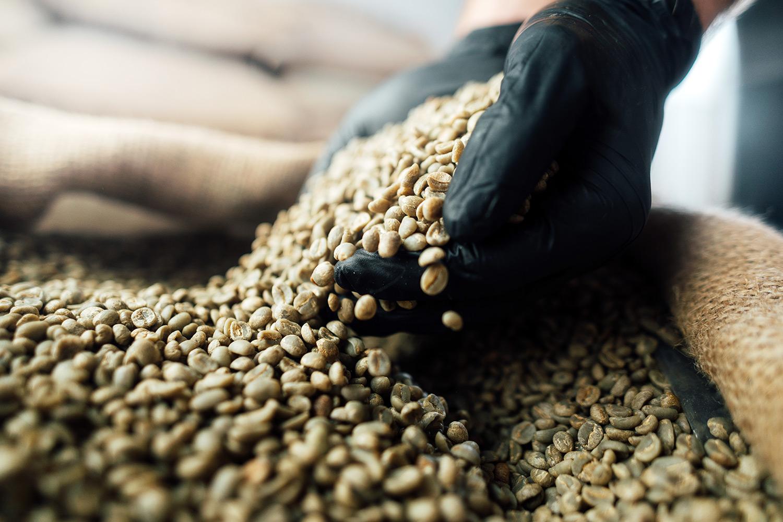 hero arabica koffiebonen rauw wide