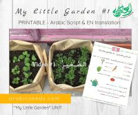 My-Little-Garden 1-Arabic-video-for-kids-printable-Arabic-Seeds-unit