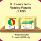 House Reading Puzzles
