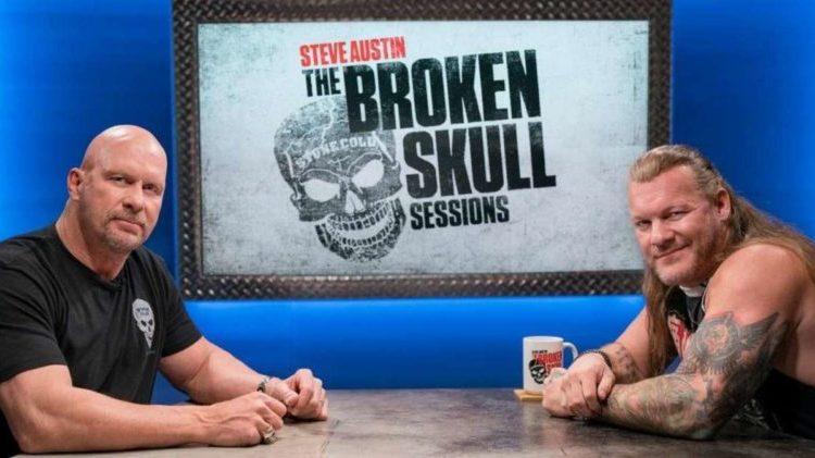كريس جيريكو broken skull session