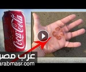 الكوكاكولا | تعرف على 10 استخدامات الكوكاكولا في تنظيف اشياء مختلفة