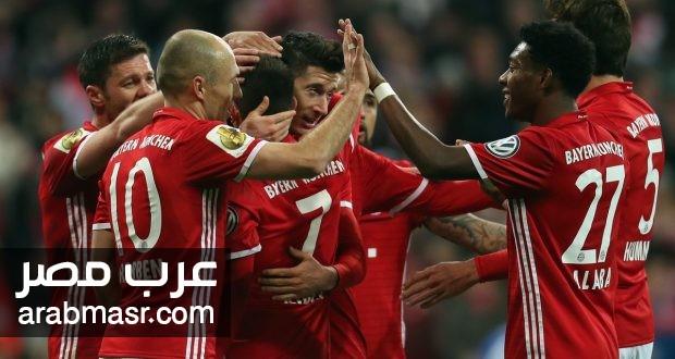مباراة بايرن ميونخ وهوفنهايم فى الدورى الالمانى شاهد معنا | شبكة عرب مصر