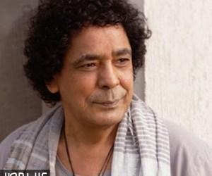 محمد منير ينجح فى اكتساح قائمة top tracks مصر بكليب اغنية عالم واحد