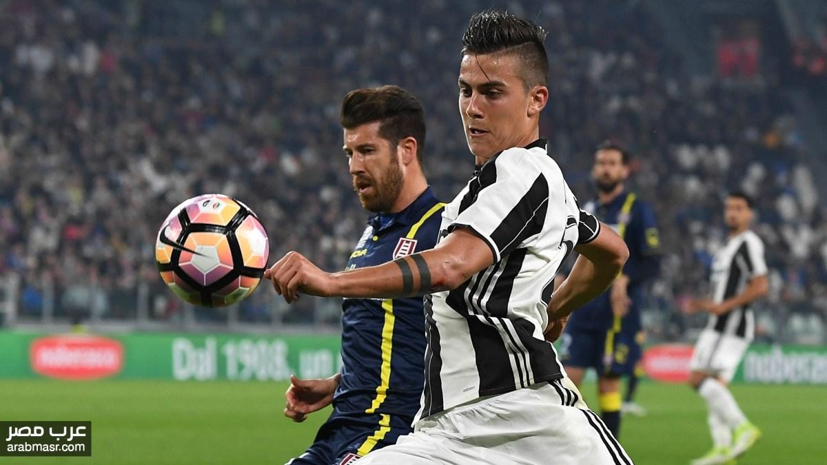 مباراة يوفنتوس وكييفو فيرونا فى الدورى الايطالى شاهد معنا | شبكة عرب مصر