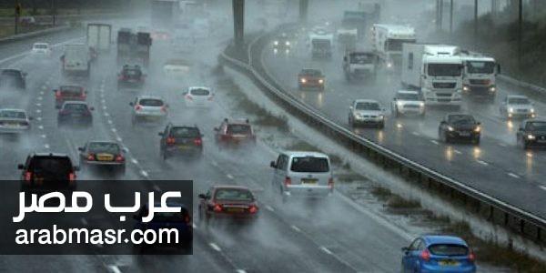 الادارة العامة للمرور تعرض بعض النصائح للقيادة الامنة اثناء نزول الامطار لتجنب الحوادث