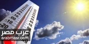 موعد انكسار الموجه الحارة في الجو هيئه الارصاد الجوية توضح بالبيان