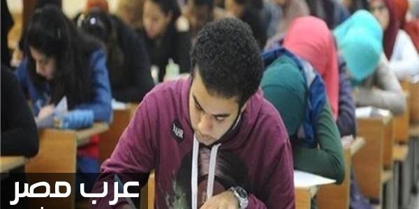 امتحانات الثانويه العامه المحمول جريمة لافتة تحذيرية بلجان الامتحانات