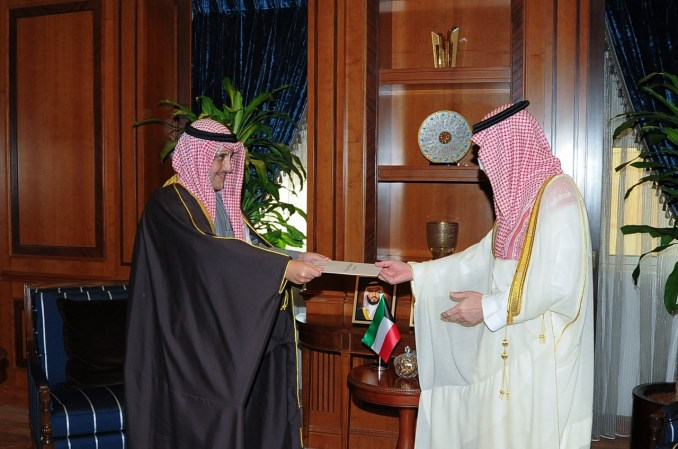 Saudi king, Kuwait emir exchange letters on bilateral relations