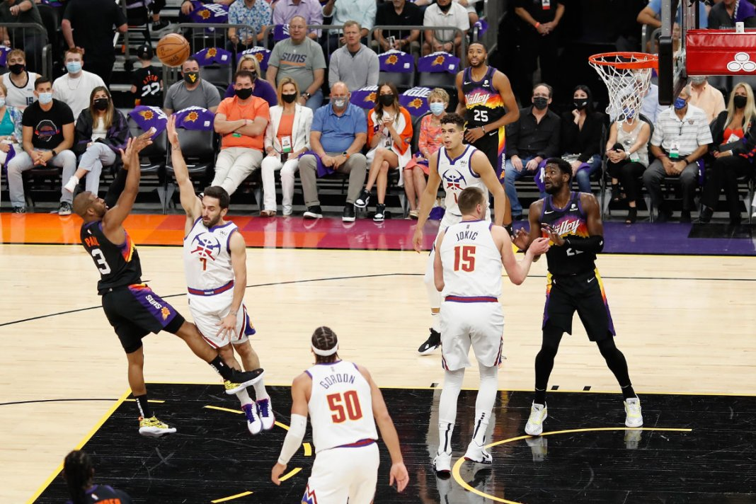 Suns scorch Nuggets for 2-0 NBA series lead
