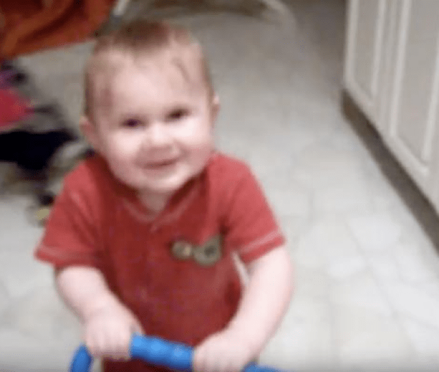 A Still Image From A Video Uploaded On Youtube Shows The Baby Boy Of Stephanie Lenz Dancing To The Prince Song Lets Go Crazy