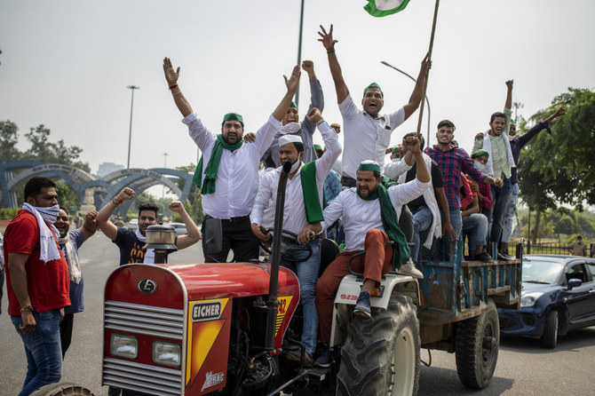 Indian farmers block roads, railways in nationwide shutdown to protest reform | Arab News