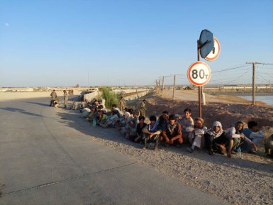 Afghan security personnel flee into Tajikistan as Taliban advance