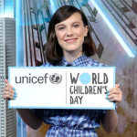 Millie Bobby Brown as UNICEF goodwill ambassador