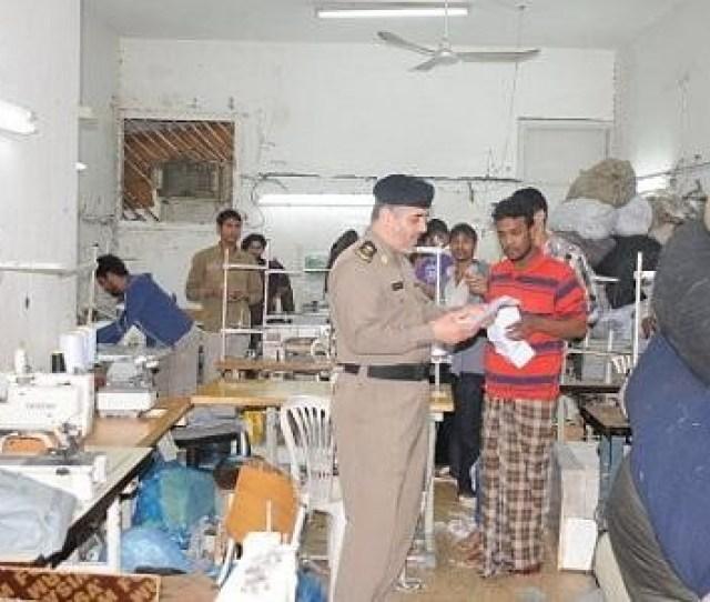Illegal Expatriates Arrested In Riyadh Raids