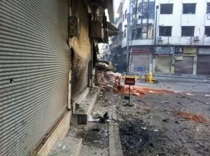 le forze del regime controllano Homs