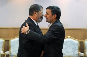 presidente egiziano e presidente iraniano