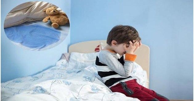 التبول اللاإرادي عند الأطفال أثناء النوم وعلاجه