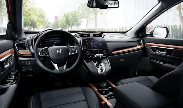 Honda CR-V iç görünüm