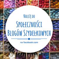 Należę do Społeczności Blogów Szydełkowych na facebook.com