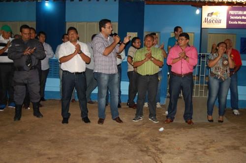 Secretário Rodrigo Aladim destaca importância da escola para a  comunidade