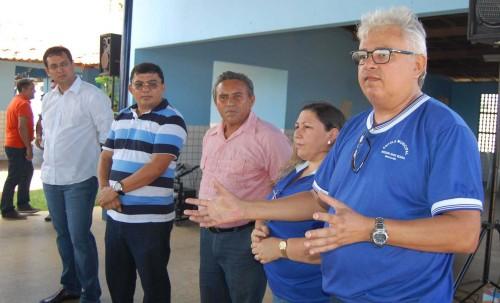 Professor Tião Maia fala da importância da programa para os alunos da Escola Maura Bezerra