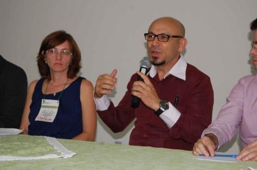 Diretor geral do IFRN, Professor Varélio , dá as boas vinda aos participantes