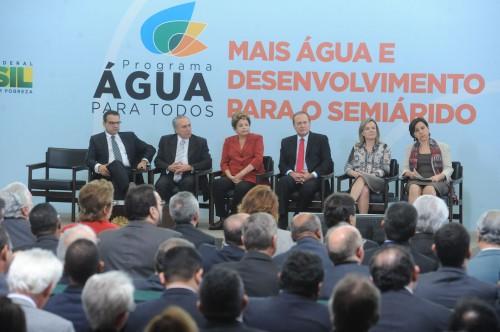 Presidenta Dilma Roussef leva sua palavra aos prefeitos