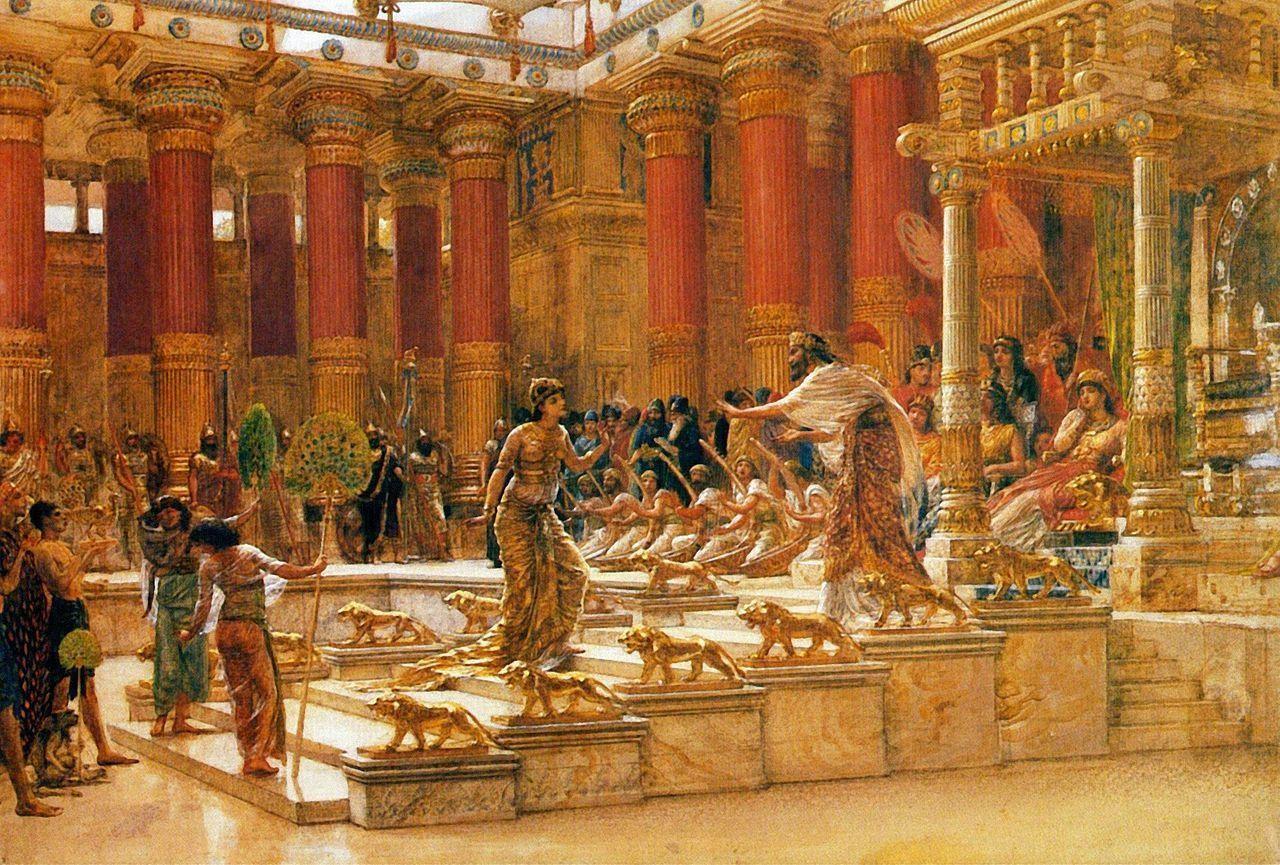Queen Sheba Visits King Solomon