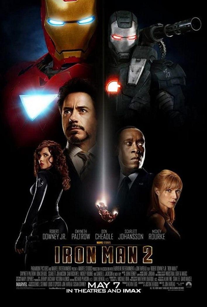 بوستر Iron man 2