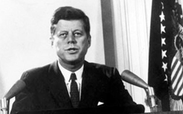 الرئيس الأمريكي الراحل جون كينيدي