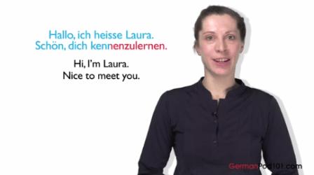 Learn German With German Pod 101 - افضل قنوات اليوتيوب لتعلم اللغة الالمانية