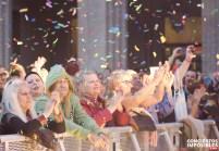 El público durante la actuación