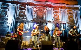 White Coven en la Plaza del Justicia / Concierto Aragón Musical