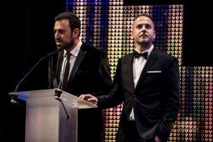 David Chapín y Sergio Falces. Foto de Marcos Cebrián
