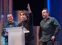 The Kleejoos Band - XIX Premios de la Música Aragonesa. Foto, Ángel Burbano