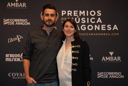 Diego Stabilito y Leticia Sanz. Foto, Ángel Burbano