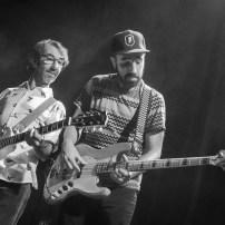 Cuarteto de Nos el 9 de junio de 2018 en las Armas. Foto, Ángel Burbano