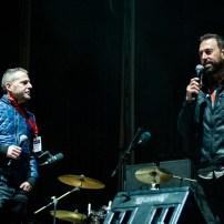 Sergio Falces y David Chapín el 7 de octubre de 2018. Foto, Ángel Burbano