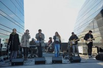 Mamma Cool Funk Orkestra. Azotea del Pablo Serrano, el 3 de noviembre de 2018. Fotos, Ángel Burbano