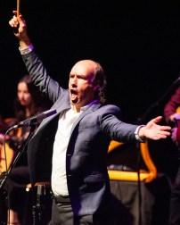 Carlos Nuñez el 28 de diciembre de 2018 en el Teatro de las Esquinas - Por Ángel Burbano