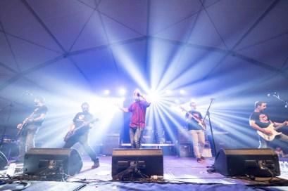 Los de marras. San Jorge Rock 2019 en Borja. Foto, Luis Lorente