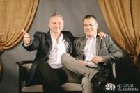 Fernando Frisa y Nacho Estévez. Foto, Jal Lux
