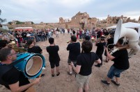 Broken Brothers Brass Band. Belchite Music Night. 22/6/19. Foto, Luis Lorente